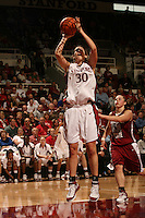 25 February 2006: Brooke Smith during Stanford's 78-47 win over the Washington State Cougars at Maples Pavilion in Stanford, CA.