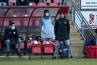 The Orient bench during Leyton Orient vs Salford City, Sky Bet EFL League 2 Football at The Breyer Group Stadium on 2nd January 2021