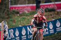 Denise Betsema (NED/Pauwels Sauzen-Bingoal)<br /> <br /> Women's Race<br /> UCI Cyclocross World Cup Namur 2020 (BEL)<br /> <br /> ©kramon