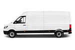 Car driver side profile view of a 2019 Volkswagen Crafter Base 4 Door Cargo Van