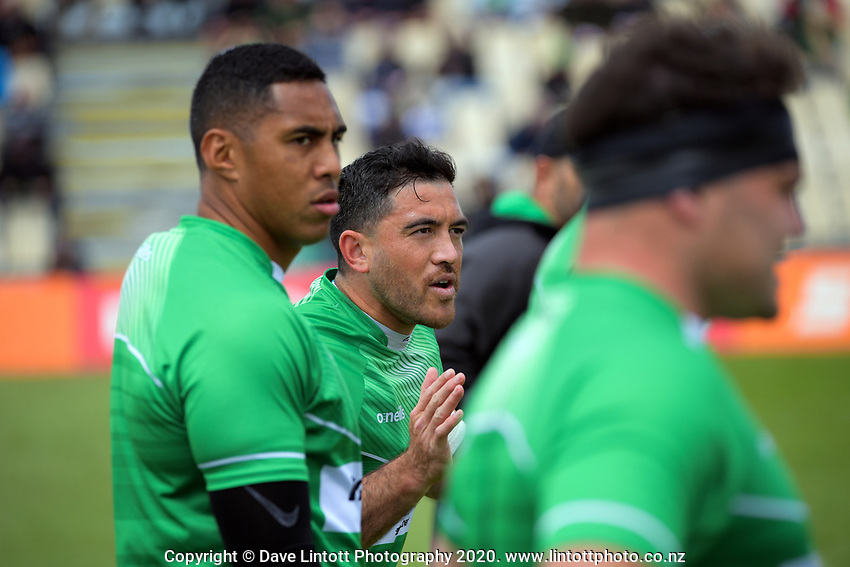 Manawatu captain Nehe Milner-Skudder during the Mitre 10 Cup Cup rugby match between Manawatu Turbos and Southland Stags at Manfeild Park in Feilding, New Zealand on Saturday, 1 November 2020. Photo: Dave Lintott / lintottphoto.co.nz