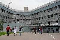 milano, quartiere bovisa. istituto di ricerche farmacologiche mario negri. --- milan, bovisa district. The Mario Negri Institute for Pharmacological Research