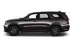 Car Driver side profile view of a 2021 Dodge Durango GT 5 Door SUV Side View
