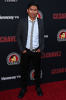 """HOLLYWOOD, LOS ANGELES, CA, USA - MARCH 20: Darian Basco at the Los Angeles Premiere Of Pantelion Films And Participant Media's """"Cesar Chavez"""" held at TCL Chinese Theatre on March 20, 2014 in Hollywood, Los Angeles, California, United States. (Photo by David Acosta/Celebrity Monitor)"""