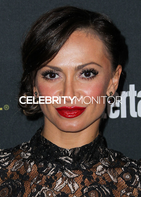 WEST HOLLYWOOD, CA, USA - AUGUST 23: Karina Smirnoff arrives at the 2014 Entertainment Weekly Pre-Emmy Party held at the Fig & Olive on August 23, 2014 in West Hollywood, California, United States. (Photo by Xavier Collin/Celebrity Monitor)