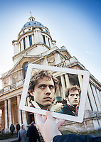 Pictured: Filming of Les Miserables at the old Royal Naval College in Greenwich, London<br />