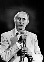 Henry Mancini: The composer of the Pink Panther theme conducted the Toronto Symphony last night.<br /> <br /> Griffin, Doug<br /> Picture, 1981