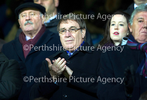 Hearts v St Johnstone....11.01.11  Scottish Cup.St Johnstone chairman Geoff Brown.Picture by Graeme Hart..Copyright Perthshire Picture Agency.Tel: 01738 623350  Mobile: 07990 594431
