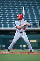 AZL Reds Caleb Van Blake (39) at bat during an Arizona League game against the AZL Cubs 2 on July 23, 2019 at Sloan Park in Mesa, Arizona. AZL Cubs 2 defeated the AZL Reds 5-3. (Zachary Lucy/Four Seam Images)