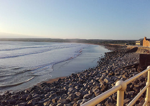 Lahinch Beach in Co Clare