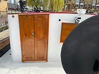 BNPS.co.uk (01202) 558833. <br /> Pic: Zeewarriors/BNPS<br /> <br /> A 100-year old Dutch sailing barge moored in Bermondsey has gone on sale for £278,000.<br /> <br /> The 25-metre MV Johanna Elisabeth was originally constructed in 1913 at Appelo, Zwartsluis in Holland, and was brought to the UK in 2003 by a previous owner.<br /> <br /> Her work as a sailing barge included shipping freight but she is now moored at the South Dock Marina in Bermondsey, south London, and used as a home.