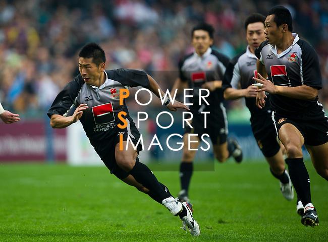 England play China on Day 1 of the 2011 Cathay Pacific / Credit Suisse Hong Kong Rugby Sevens, Hong Kong Stadium.Juan Manuel Serrano