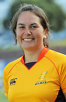 Allex Evans. Wellington Blaze headshots at Allied Nationwide Basin Reserve, Wellington on Thursday, 9 December 2010. Photo: Dave Lintott / lintottphoto.co.nz
