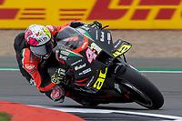 27th August 2021; Silverstone Circuit, Silverstone, Northamptonshire, England; MotoGP British Grand Prix, Practice Day; Aprilia Racing Team Gresini rider Aleix Espargaro on his Aprilia RS-GP