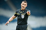 GLASGOW, SCOTLAND - JANUARY 28:  Match referee Steven McLean during the Scottish Communities Cup Semi Final match between Ayr United and Kilmarnock at Hampden Park on January 28, 2012 in Glasgow, United Kingdom. (Photo by Rob Casey/Getty Images).