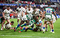 Friday 8th October 2021<br /> <br /> Bradley Roberts3 during the URC Round 3 clash between Ulster Rugby and Benetton Rugby at Kingspan Stadium, Ravenhill Park, Belfast, Northern Ireland. Photo by John Dickson/Dicksondigital