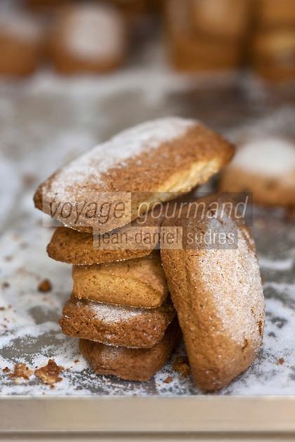 Europe/France/Corse/2B/Haute-Corse/Cap Corse/Bastia: Canistrelli aux raisins, Biscuits corses: Chez Mireille