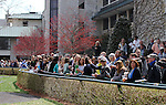 April 05, 2014: Keeneland Ashland Stakes day crowd attendance: 27,688.  Candice Chavez/ESW/CSM