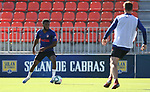 Atletico de Madrid's Thomas Lemar during training session. May 29,2020.(ALTERPHOTOS/Atletico de Madrid/Pool)