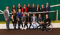 Rotterdam, The Netherlands, 18 Februari, 2018, ABNAMRO World Tennis Tournament, Ahoy, Management Team<br /> Photo: www.tennisimages.com