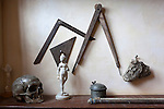 Netherlands, North Holland, Amsterdam: Rembrandt's House (Museum Het Rembrandthuis). Painters tools and objects of the 17th century painter | Niederlande, Nordholland, Amsterdam: Museum im Rembrandt-Haus, vom Maler gesammelte Gegenstaende und Malwerkzeuge