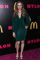 WEST HOLLYWOOD, CA - DECEMBER 05: Charlotte Kirk arriving at the Nylon Magazine December 2013/January 2014 Cover Launch Party held at Quixote Studios on December 5, 2013 in West Hollywood, California. (Photo by Xavier Collin/Celebrity Monitor)