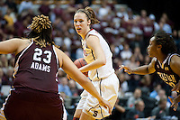 INDIANAPOLIS, IN - APRIL 3, 2011: Kayla Pedersen during the NCAA Final Four against Texas A&M at Conseco Fieldhouse  in Indianapolis, IN on April 1, 2011.
