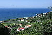 Faja dos Vimes auf der Insel Sao Jorge, Azoren, Portugal