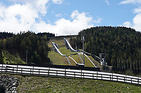Olympiaschanze in Seefeld - Seefeld 22.05.2021: Trainingslager der Deutschen Nationalmannschaft zur EM-Vorbereitung