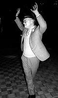 1978 FILE PHOTO<br /> New York City<br /> Truman Capote at Studio 54<br /> Photo by Adam Scull-PHOTOlink.net