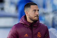 April 27th 2021; Alfredo Di Stefano Stadium, Madrid, Spain;  Eden Hazard of Real Madrid during the Champions League match, semifinals between Real Madrid and Chelsea FC played at Alfredo Di Stefano Stadium