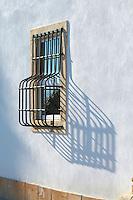 window with bars quinta do cotto douro portugal