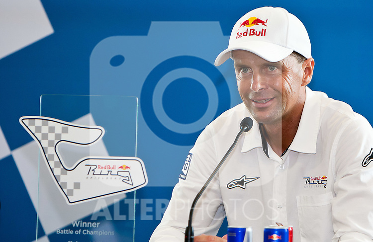 21.08.2011, Red Bull Ring, Spielberg, AUT, IDM Spielberg, im Bild Pressekonferenz mit Andreas Meklau // during the IDM weekend on the Red Bull Circuit in Spielberg, 2011/08/21, EXPA Pictures © 2011, PhotoCredit: EXPA/ M.Kuhnke