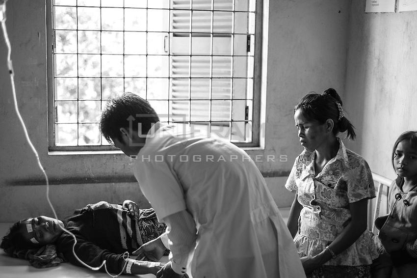 Cambodian Hospitals. NPH Phnom Penh, Health center, Koh Ker, Seam Reap. 2011-2012