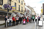 Narrow West Street Protest