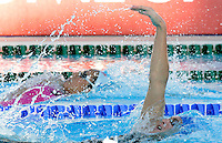 Britain's Gemma Spofforth, foreground, swims during the Women's 200m Backstroke final at the Swimming World Championships in Rome, 1 August 2009..UPDATE IMAGES PRESS/Riccardo De Luca