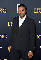 "LOS ANGELES, USA. July 10, 2019: Chiwetel Ejiofor at the world premiere of Disney's ""The Lion King"" at the Dolby Theatre.<br /> Picture: Paul Smith/Featureflash"