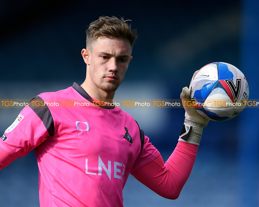 Josef Bursik of Doncaster Rovers during Portsmouth vs Doncaster Rovers, Sky Bet EFL League 1 Football at Fratton Park on 17th October 2020