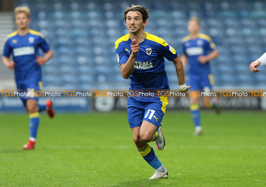Ethan Chislett of AFC Wimbledon during AFC Wimbledon vs Shrewsbury Town, Sky Bet EFL League 1 Football at The Kiyan Prince Foundation Stadium on 17th October 2020