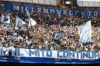 Napoli supporters cheer on<br /> Napoli 29-9-2019 Stadio San Paolo <br /> Football Serie A 2019/2020 <br /> SSC Napoli - Brescia FC<br /> Photo Cesare Purini / Insidefoto