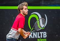 Rotterdam, Netherlands, August21, 2017, Rotterdam Open, Guy den Heijer (NED)<br /> Photo: Tennisimages/Henk Koster