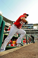 9 July 2011: Washington Nationals outfielder Laynce Nix takes to the field for a game against the Colorado Rockies at Nationals Park in Washington, District of Columbia. The Nationals were edged out by the Rockies 2-1, dropping the second game of their 3-game series. Mandatory Credit: Ed Wolfstein Photo