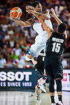 DeMar Derozan of United States of America during FIBA Basketball World Cup 2014 group C between United States of America vs New Zeland  on September 02, 2014 at the Bilbao Arena stadium in Bilbao, Spain. Photo by Nacho Cubero / Power Sport Images