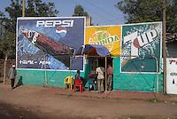 ethiopia, addis abeba, bar