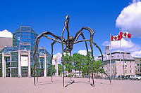 'Maman' Sculpture (sculptor: Louise Bourgeois, 1999) at the National Gallery of Canada, in the City of Ottawa, Ontario, Canada