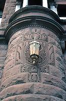 San Antonio--Bexar County Courthouse, detail.  Photo '80.