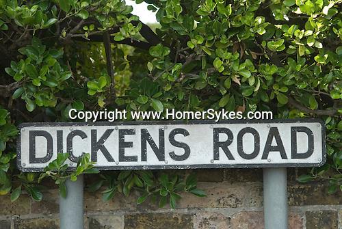 Dickens Road, Broadstairs Kent Uk.