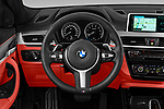 Car pictures of steering wheel view of a 2019 BMW X2 M35 5 Door SUV Steering Wheel