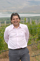 George Veranis, sales director. Amyntaion wine cooperative, Amyndeon, Macedonia, Greece