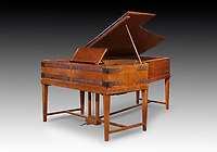 BNPS.co.uk (01202) 558833<br /> Pic: Dreweatts/BNPS<br /> <br /> Pictured: A rare grand piano, dating from 1904 and attributed to Charles Robert Ashbee is part of the sale.<br /> <br /> A remarkable collection of rare pianos belonging to the Queen's personal restorer and conservator has emerged for sale for £250,000.<br /> <br /> David Winston is parting with 26 pianos he has amassed over the past 30 years dating from the 18th century to the present day.<br /> <br /> Mr Winston, who was awarded the Royal Warrant in 2012, is regarded as one of the foremost experts in his field and has restored pianos owned and played by Beethoven, Chopin and Liszt.<br /> <br /> His collection includes a 1925 Pleyel grand piano fitted with an original 'Auto Pleyela' self-playing mechanism in a spectacular Chinoiserie Louis XV case valued at 60,000.